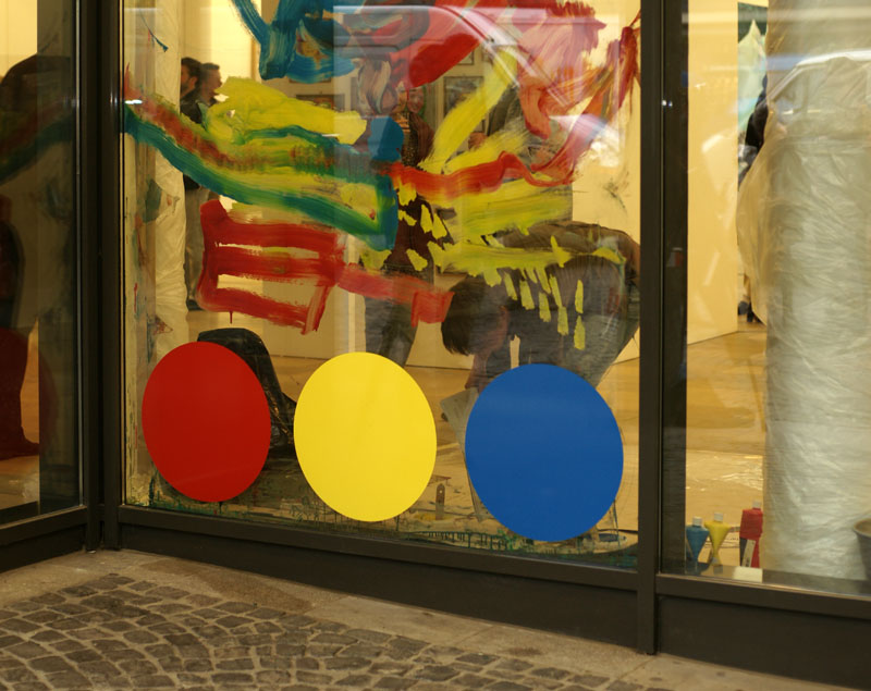 """Partizipatorische Performance zur Ausstellung """"zentrale"""" in der Stadthausgalerie Münster"""