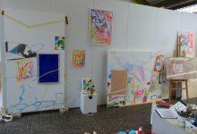 Einblick Atelier 2017.