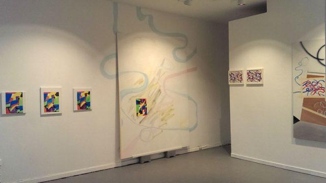 Installationsansicht Kunstverein Greven, 2017.